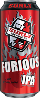 Surly Brewing Furious IPA 473 ml