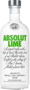 Absolut Lime Vodka 750 ml