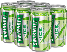 Smirnoff Ice Green Apple 6 x 355 ml