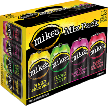 Mike's - Mix Pack 12 x 355 ml