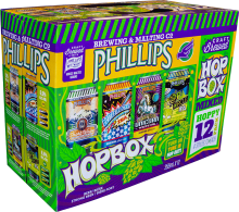 Phillips Brewing - Hop Box Variety Pack 12 x 355 ml