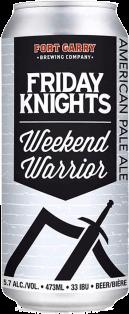 Fort Garry Brewing Friday Knights Weekend Warrior Ale 473 ml