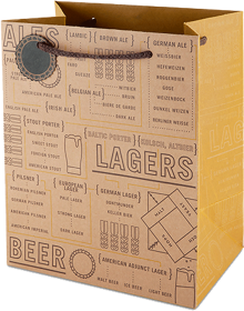 Beer varieties 6 pack gift bag
