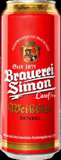 Brauerei Simon Weissbier Dunkel 500 ml