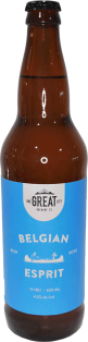 One Great City Brewing Belgian Esprit Ale 650 ml