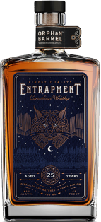 ORPHAN BARREL ENTRAPMENT 25 YEAR OLD CANADIAN WHISKY 750 ml