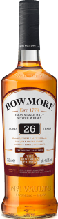 BOWMORE VINTNERS TRILOGY 26 YEAR OLD WINE MATURED SINGLE MALT SCOTCH WHISKY 750 ml