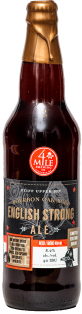 4 MILE BREWING CO. BOURBON OAK AGED ENGLISH STRONG ALE 650 ml