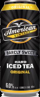 American Vintage Barely Sweet Original Iced Tea 473 ml