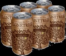 Lonetree Ginger Apple Cider 6 x 355 ml
