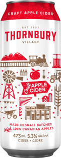 Thornbury Village Premium Apple Cider 473 ml