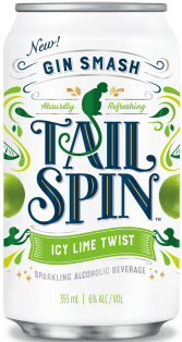 Tail SPin Gin Smash Icy Lime Twist 6 x 355 ml