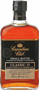 Canadian Club Classic 12 Year Whisky 375 ml