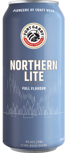 Fort Garry Brewing - Northern Lite Lager 473 ml