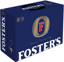 Fosters Lager 12 x 355 ml