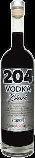 204 SPIRITS VODKA BLACK 200 ml