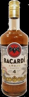 Bacardi Anejo Cuatro 750 ml