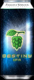 Fuggles & Warlock Destiny IPA 473 ml