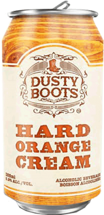 Iconic Brewing Dusty Boots Hard Orange Cream 473 ml