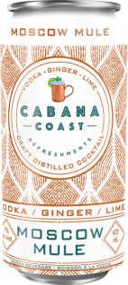 Cabana Coast - Moscow Mule 473 ml