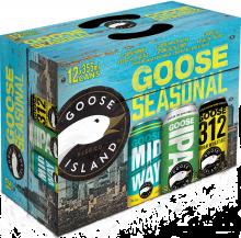 GOOSE ISLAND SEASONAL MIXER 12 x 355 ml