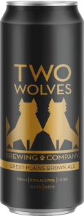 Two Wolves Brewing Brown Ale 500 ml