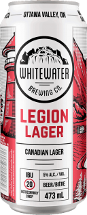 Whitewater Brewing Company Legion Lager 473 ml