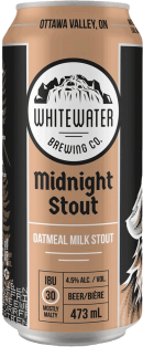 Whitewater Brewing Company Midnight Stout 473 ml