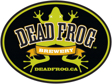 Dead Frog Obsidian Dagger Noir IPA Growler 1.89 Litre