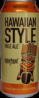 Spearhead Brewery Hawaiian Pale Ale 473 ml