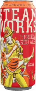 Steamworks Heroica Red Ale 473 ml