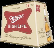 Miller High Life Lager 12 x 355 ml