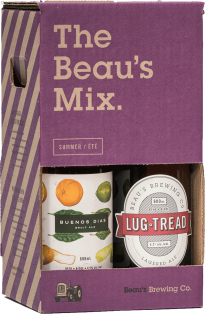 Beau's All Natural Brewing Summer Mix Pack 4 x 600 ml
