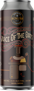 Oxus Brewing Company Juice of the Oats Oatmeal Stout 473 ml