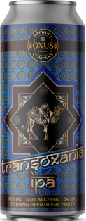 Oxus Brewing Company Transoxania IPA 473 ml