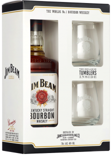 JIM BEAM WHITE GIFT PACK