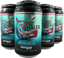 Torque Brewing Hazy Whaler New England IPA 6 x 355 ml