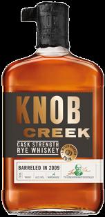 KNOB CREEK CASK STRENGTH RYE WHISKEY 750 ml