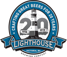 Lighthouse Night Watch Coffee Lager Growler 1.89 Litre