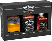 Jack Daniel's Family of Brands Gift Pack 3 x 375 ml