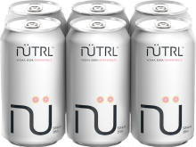 Nutrl Vodka Soda Grapefruit 6 x 355 ml