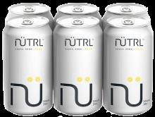 NUTRL VODKA SODA LEMON 6 x 355 ml
