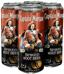Captain Morgan Spiked Root Beer 4 x 473 ml