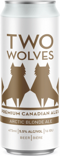 Two Wolves Brewing Arctic Blonde Ale 473 ml