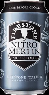 Firestone Brewing Nitro Merlin Milk Stout 355 ml