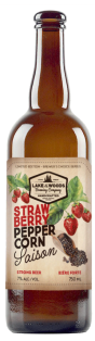 Lake of the Woods Brewing Strawberry Peppercorn Saison 