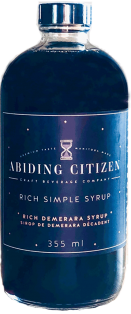 ABIDING CITIZEN RICH SIMPLE SYRUP RICH DEMERARA SYRUP