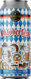 Oxus Brewing Oktoberfest Lager 473 ml