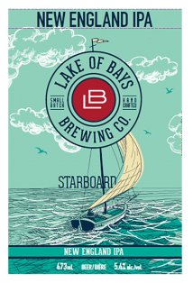 Starboard New England IPA 473 ml