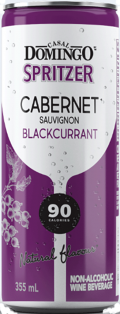 CASAL DOMINGO CABERNET SAUVIGNON BLACKCURRANT SPRITZER 355 ml